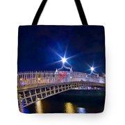 Dublin - Ha'penny Bridge  Tote Bag