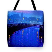 Dublin Starry Nights Tote Bag