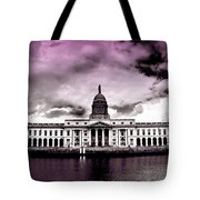 Dublin - The Custom House - Lilac Tote Bag