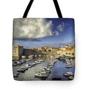Dubrovnik Harbor Tote Bag