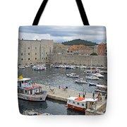 Dubrovnik Old Harbour Tote Bag
