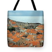 Dubrovnik Rooftops And Walls Tote Bag