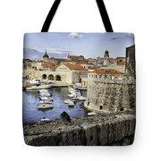 Dubrovnik Walls Tote Bag