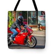 Ducati 748 Tote Bag