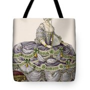 Duchess Evening Gown, Engraved Tote Bag