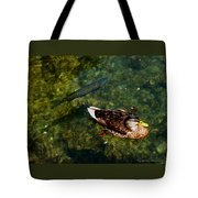 Duck And Fish Tote Bag