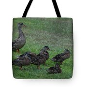 Duck Assembly Tote Bag