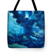 Duck Diver Green Tote Bag