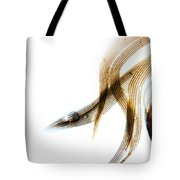 Duck Feather And Water Drops Tote Bag