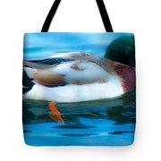 Duck Glide Tote Bag