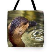 Duck Having Fun Tote Bag