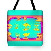 The Ducks Must Have Their Own Heaven Tote Bag
