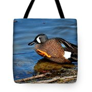 Ducky High Five  Tote Bag