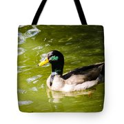 Duck In The Park Tote Bag