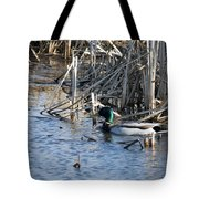 Duck Paddle Tote Bag