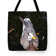 Duck Portrait Tote Bag