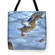 Duck Take-off Tote Bag