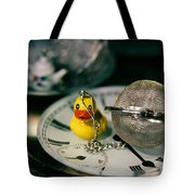 Duck The Hour Tote Bag