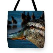 Duck Watching Ducks Tote Bag
