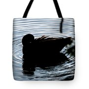 Duck Waves Tote Bag