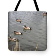 Duck With An Idea Tote Bag