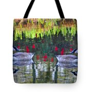 Duckland Pond Reflections Tote Bag