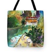 Ducks In Avila 01 Tote Bag