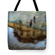 Ducks Of Isola Madre.italy Tote Bag