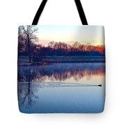 Duck's Sunrise Tote Bag