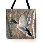 Ducks Take Off II Tote Bag