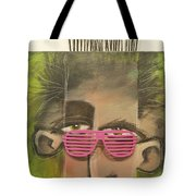 Dude With Pink Sunglasses Tote Bag