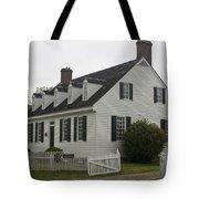 Dudley Diggs House Yorktown Tote Bag