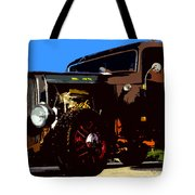 Duece Coupe Tote Bag