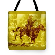 Duel In The Saddle 1 Tote Bag