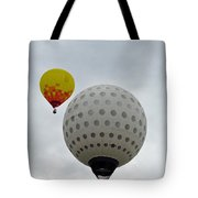 Dueling Balloons 2 Tote Bag