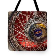 Duesenberg Wheel Tote Bag