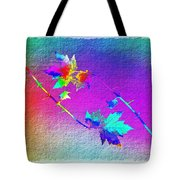 Duet In The Treetops Tote Bag