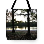 Duet Silhouette Tote Bag
