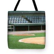 Dugout At The Old Ballpark Tote Bag
