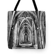 Duke Chapel Arches Tote Bag
