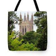 Duke Chapel Tote Bag