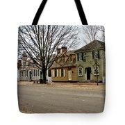 Duke Of Gloucester Street In Williamsburg Tote Bag