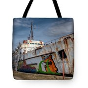 Duke Of Graffiti Tote Bag