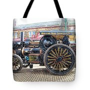 Duke Of York Traction Engine 6 Tote Bag