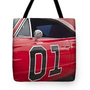 Dukes Of Hazard General Lee Tote Bag