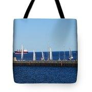 Duluth Mn Harbor Tote Bag