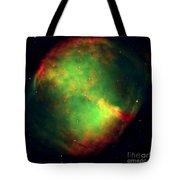 Dumbbell Nebula Tote Bag