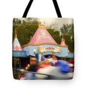 Dumbo Flying Elephants Fantasyland Signage Disneyland 02 Tote Bag
