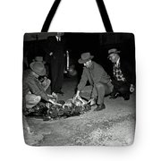 Dumping Whiskey In Mississippi 1951 Tote Bag