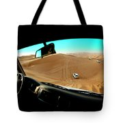 Dune Bashing In The Empty Quarter Tote Bag